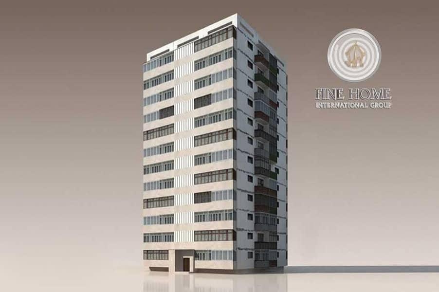 Corner Building 61 Unit in Al Muroor Area