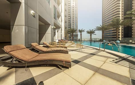 1 Bedroom Flat for Sale in Dubai Marina, Dubai - Huge Spacious Unfurnished 1BHK in Dubai Torch Tower