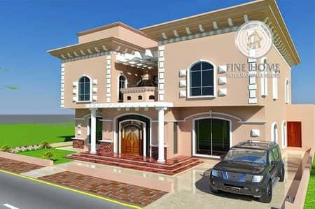 فیلا 9 غرفة نوم للبيع في مدينة بوابة أبوظبي (اوفيسرز سيتي)، أبوظبي - Villa(9BR+Sauna+Gym)in Abu Dhabi Gate City