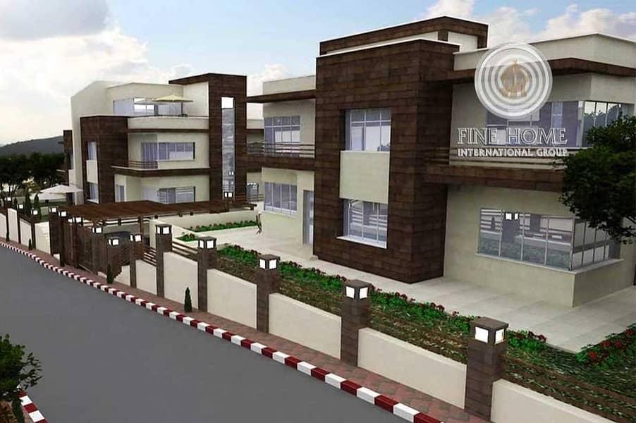 Wonderful 2 Villas Compound in Al Bateen area