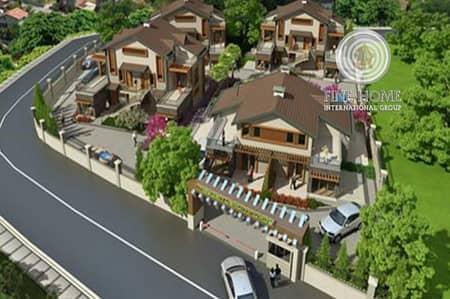 فیلا 5 غرفة نوم للبيع في القرم، أبوظبي - Nice 4 Villas Compound in Al gurm corniche