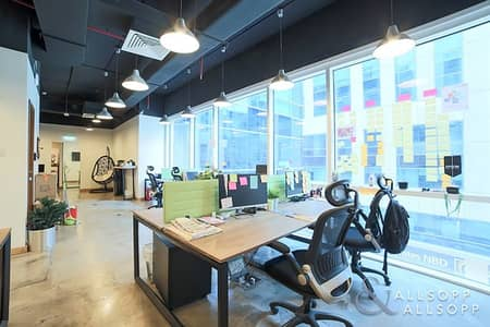 Office for Rent in Business Bay, Dubai - Fitted Office | 6 Parking | Prime Location