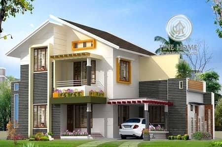 فیلا 6 غرفة نوم للبيع في آل نهيان، أبوظبي - Modern Villa 6 Bed Room + Maid Room in Bani Yas