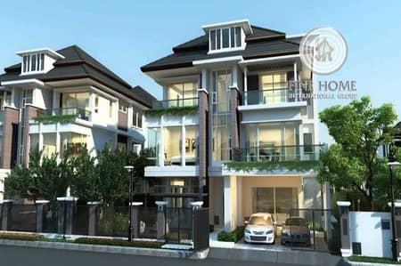 Corner 2 Villas compound in Electra street