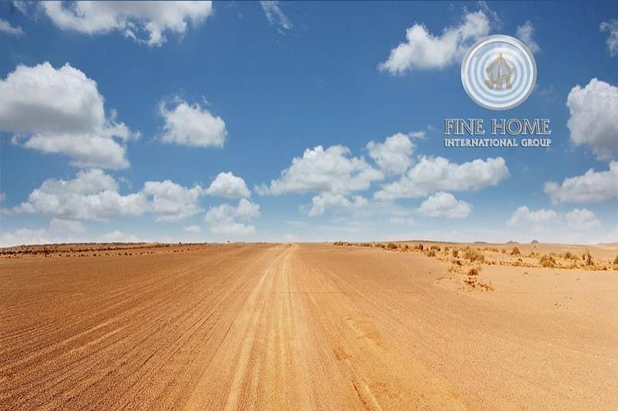 2 Corner Residential Land in Al Mushrif Area
