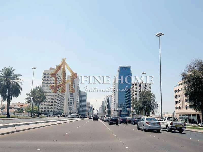2 2 Corner Residential Land in Al Mushrif Area