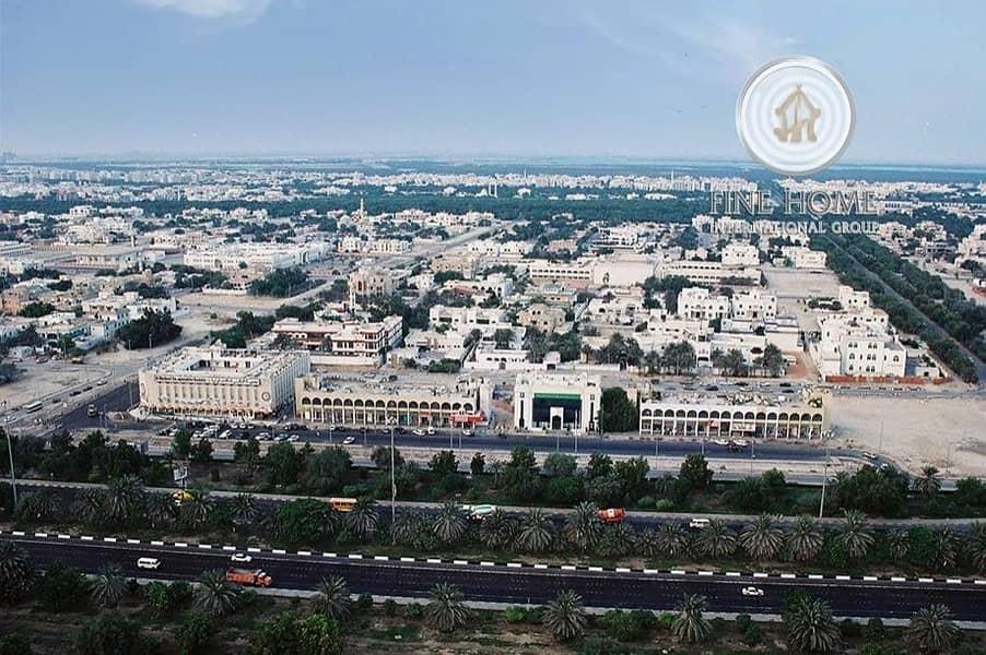 14 2 Corner Residential Land in Al Mushrif Area