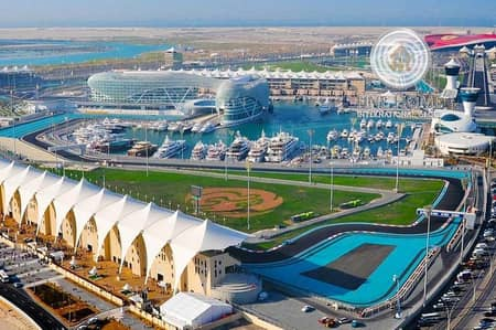 1 Bedroom Apartment for Sale in Yas Island, Abu Dhabi - Superb 1BR.Apartment in Yas  Isaland