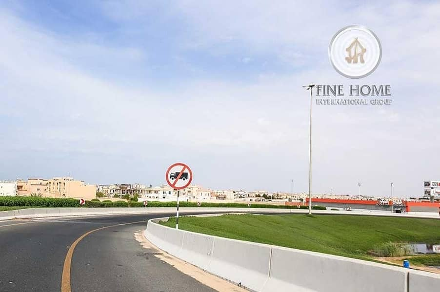 2 Corner Land in Madinat zayed. Capital City