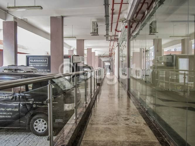 16 Showroom for rent in Nad Al Hamar Avenues