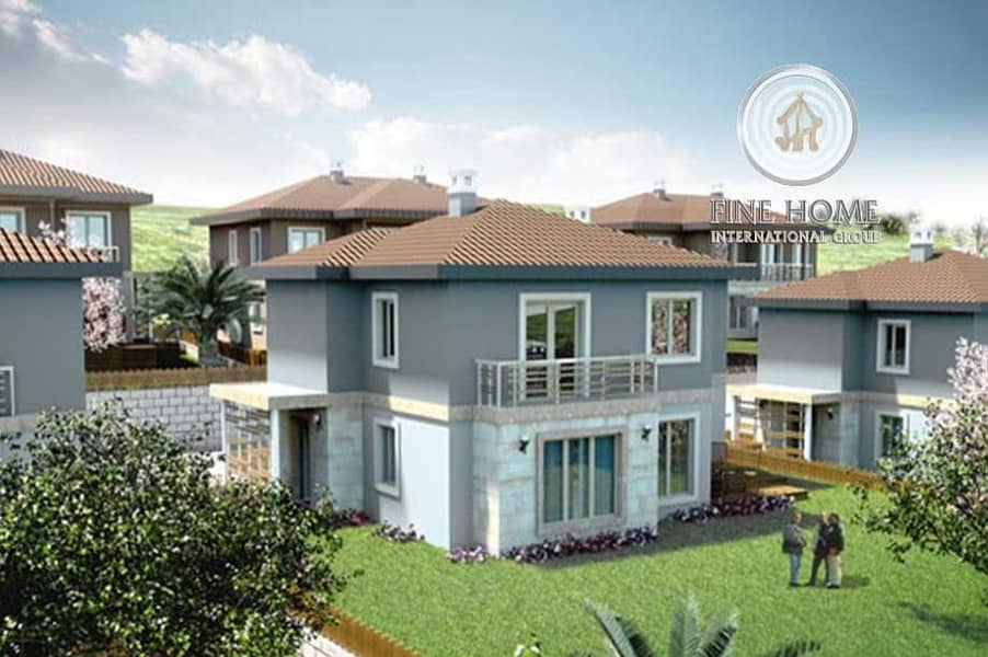 Nice 5 Villas compound in Shakhbout City