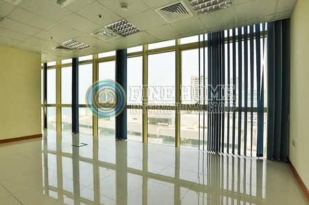 مکتب  للايجار في منطقة الكورنيش، أبوظبي - Office Size 328 Sq.Mt. in Corniche Road.