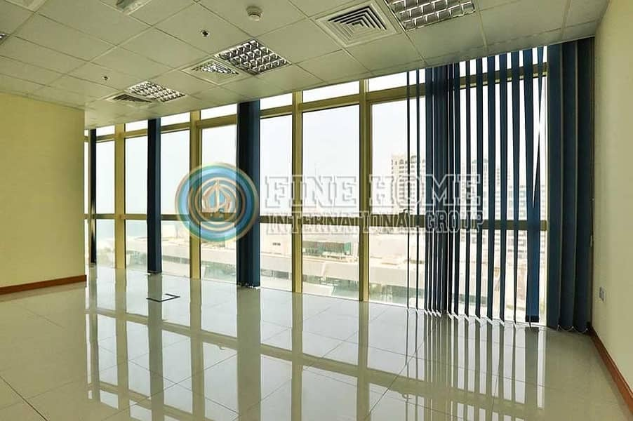 Office Size 328 Sq.Mt. in Corniche Road.