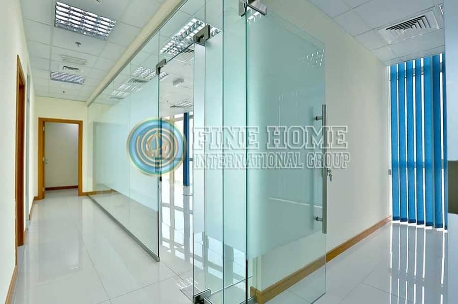 2 Office Size 328 Sq.Mt. in Corniche Road.