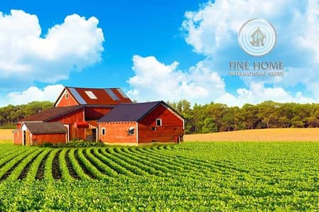 Other Commercial for Sale in Al Saad, Abu Dhabi - Luxurious Farm in al saad Area . Al Ain