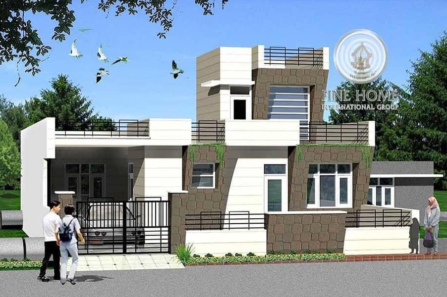 Wide Commercial Villa in Al Salam Street