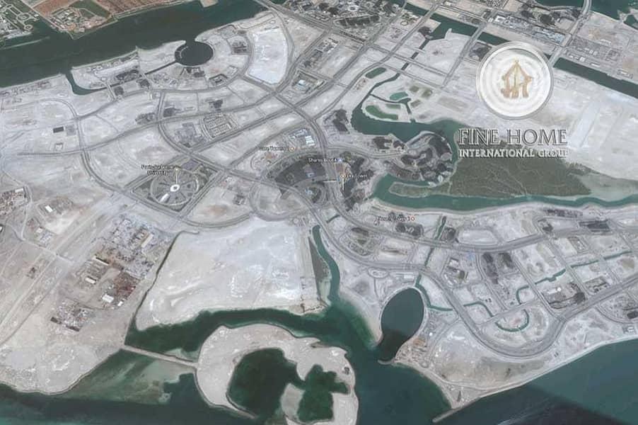 Land Permitted 28 Floors in Reem Island.