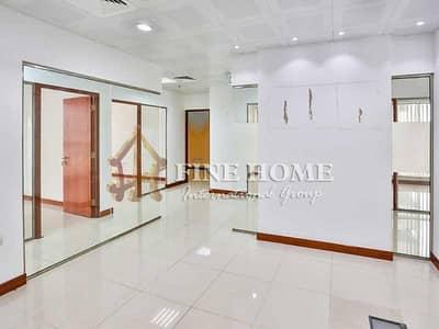 Office for Rent in Al Salam Street, Abu Dhabi - Wonderful Office In Al Salam St
