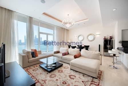 شقة 1 غرفة نوم للبيع في نخلة جميرا، دبي - Full Sea View | High Floor | One Bedroom