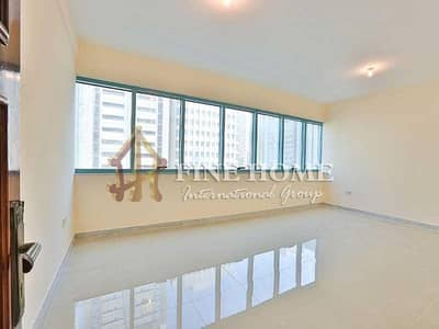 2 Bedroom Flat for Rent in Liwa Street, Abu Dhabi - Remarkably Spaced 2BR Apartment
