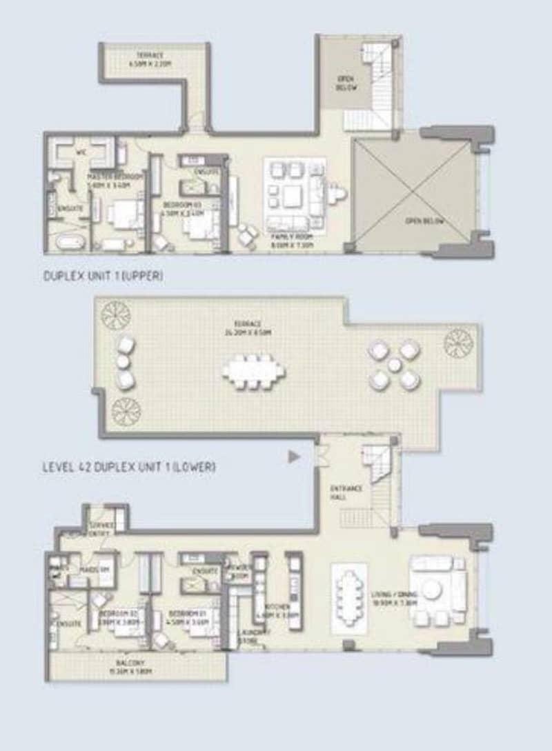 10 4 Bed Duplex | Penthouse | Large Terrace