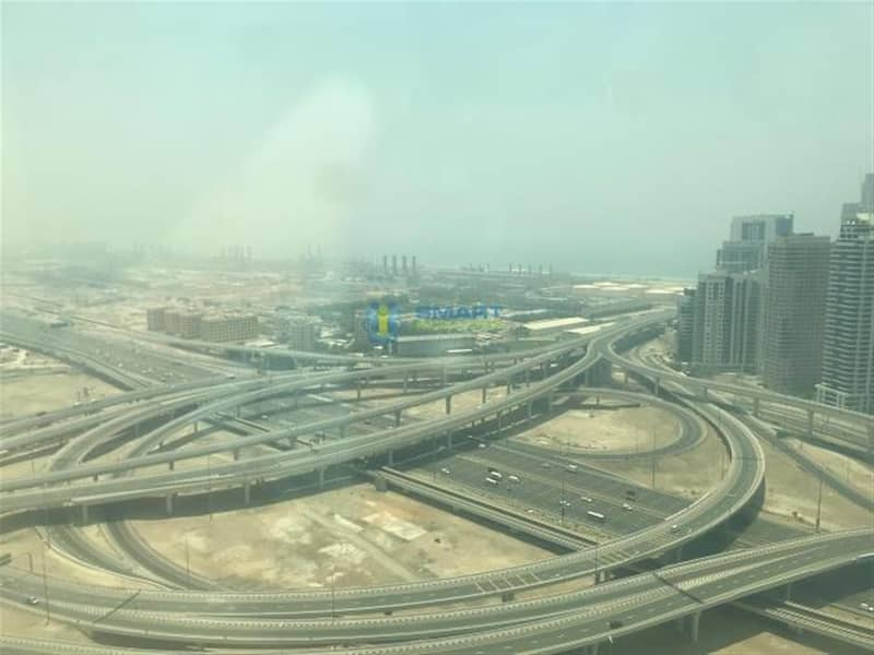 2bed in jlt with balcony near to metro