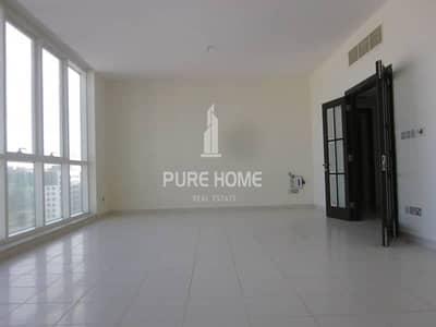 3 Bedroom Apartment for Rent in Al Najda Street, Abu Dhabi - WONDERFUL 3Bedrooms Flat and Paranormal view in AL Najda Street