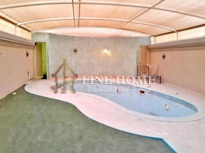فیلا 5 غرف نوم للايجار في هضبة الزعفرانة، أبوظبي - Stylish 5 BR Villa