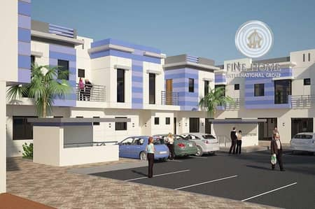 Modern 4 Villas Compound in shakhbout city