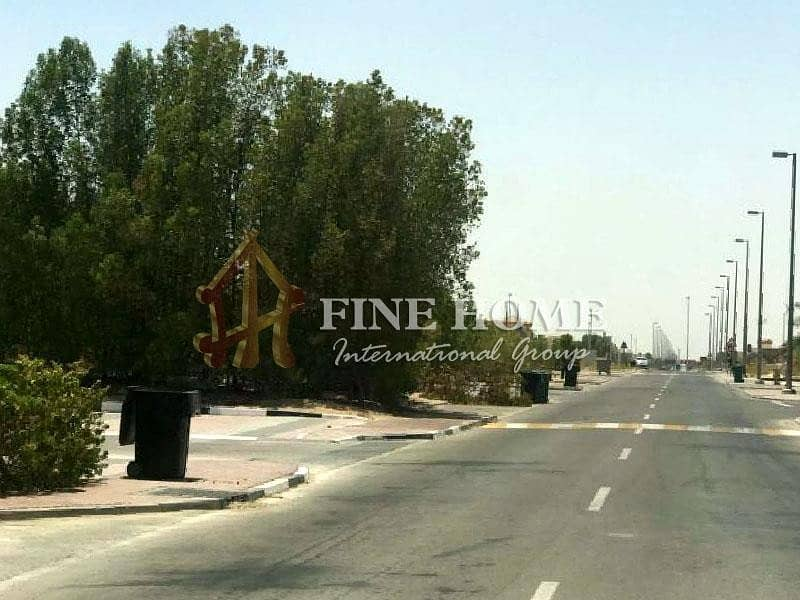 2 Great Commercial Land in Shakhbout City.