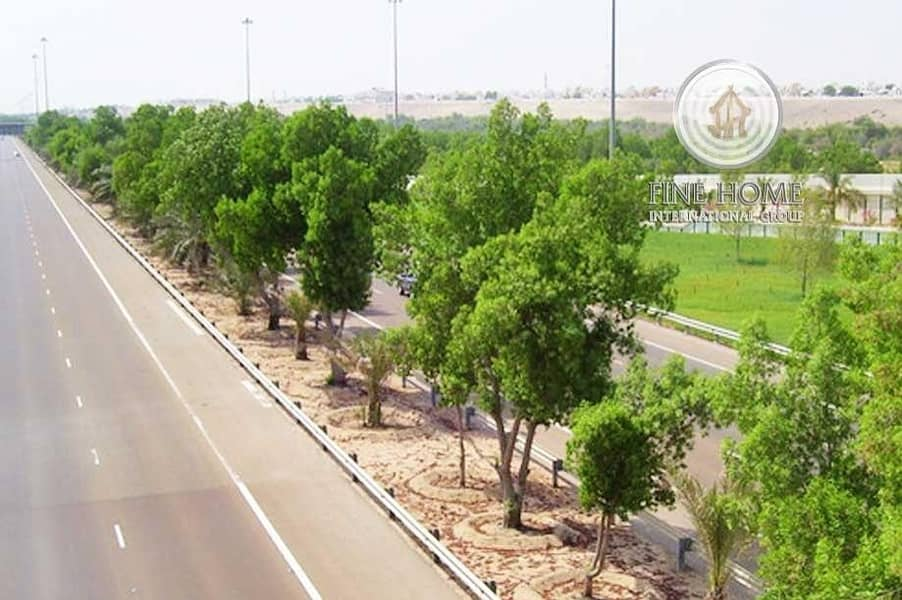 12 Great Commercial Land in Shakhbout City.