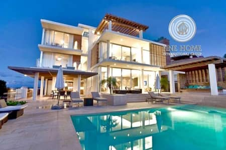 Super Deluxe 9 BR. Villa in Shakhbout City