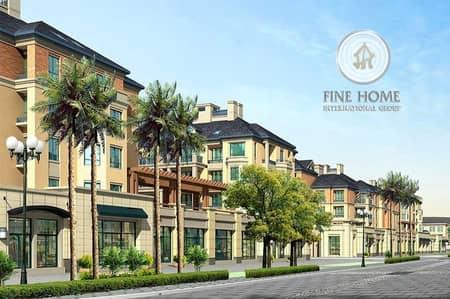 Modern 6 Villas compound in Shakhbout city