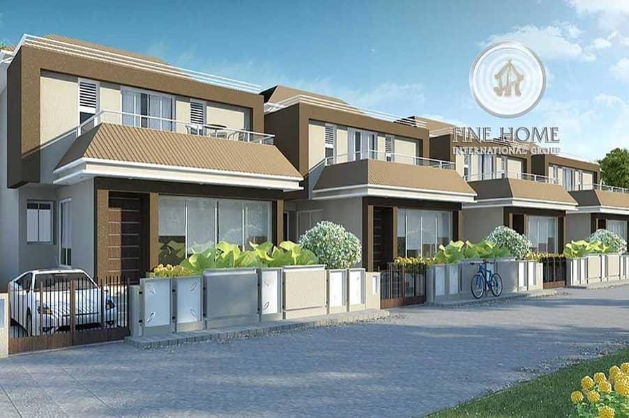 Corner 4 Villas Compound in Shakhbout City