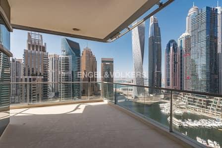 شقة 3 غرفة نوم للايجار في دبي مارينا، دبي - Spectacular Marina View | Beautiful Home