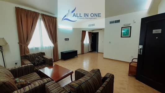 1 Bedroom Flat for Rent in Hamdan Street, Abu Dhabi - Furnished 1 BR! Inclusive of Water, Electricity, WIFI in 4 Pays