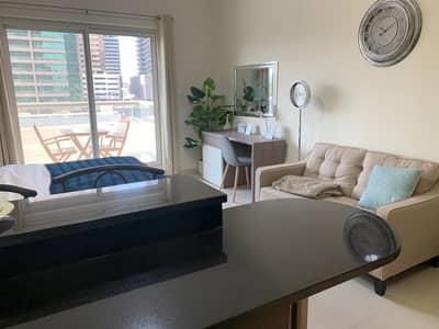 فلیٹ 1 غرفة نوم للبيع في مدينة دبي الرياضية، دبي - تملك غرفة وصالة جاهز جديد