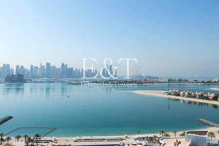 فلیٹ 1 غرفة نوم للبيع في نخلة جميرا، دبي - High floor | Sea Skyline Views | Rented | PJ