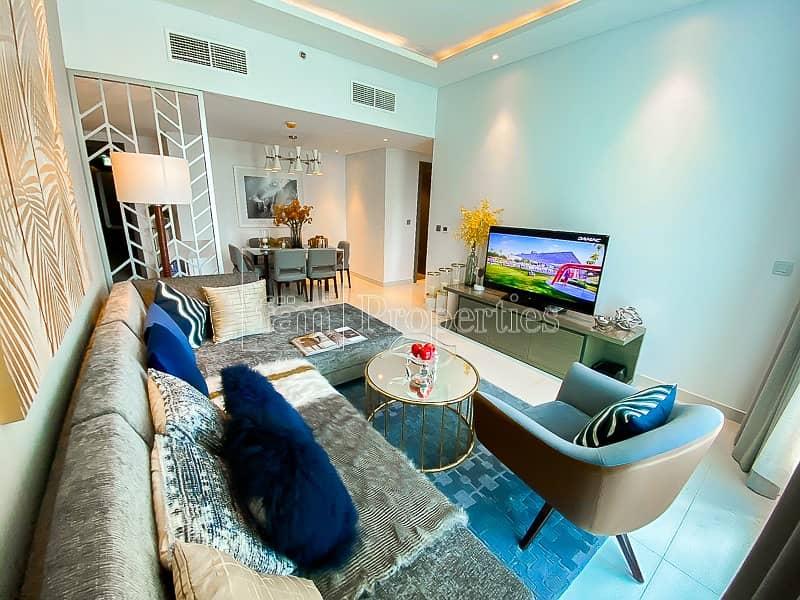 2 2BR Fully Furnished | Damac Maison Prive