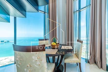 شقة 1 غرفة نوم للايجار في جي بي ار، دبي - Huge penthouse - Sea View and Palm