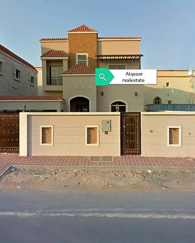 5 Bedroom Villa for Sale in Al Mowaihat, Ajman - Villa for sale on the main street with air conditioning and water and electricity