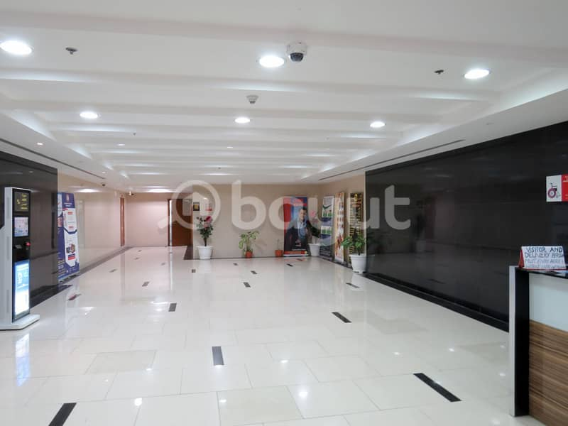 1 B/R Hall with Parking in Ajman One Tower
