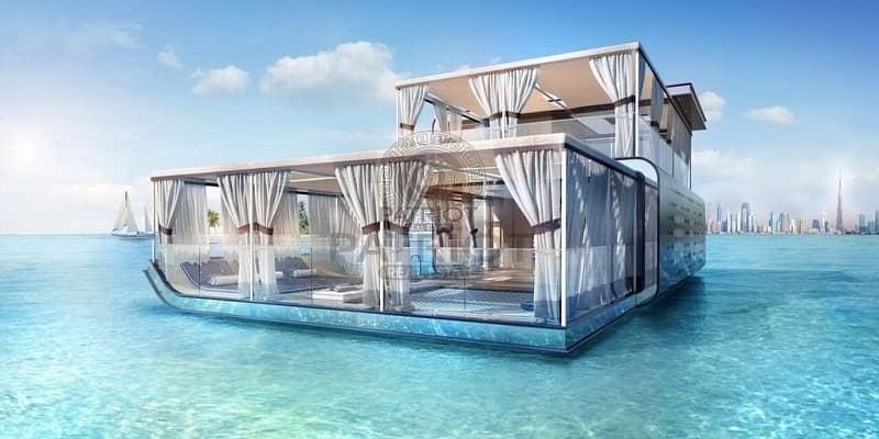 8% Guaranteed ROI for 10 Years Floating Sea House Villa