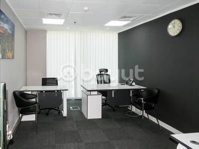 Office for Rent in Business Bay, Dubai - Fully furnished executive offices with flexible payment. NO COMMISSION!