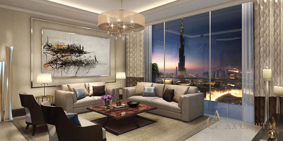 CAPTIVATING APARTMENT IN FORTE DOWNTOWN DUBAI