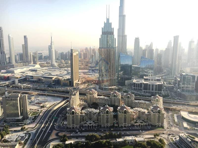 Full Burj Khalifa View! High Floor | Furnished 2BR