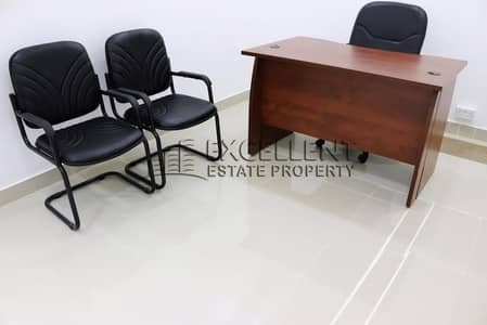 Office for Rent in Corniche Area, Abu Dhabi - Majestic  Semi-Furnished Offices in Good Shape