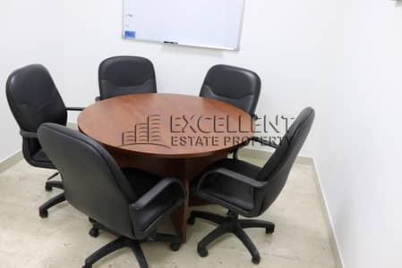 مکتب  للايجار في منطقة الكورنيش، أبوظبي - Majestic  Semi-Furnished Offices in Good Shape
