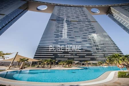 No Commission and 1 Month free For  2+1 BR Apartment With Amazing Facilities In Reem Island
