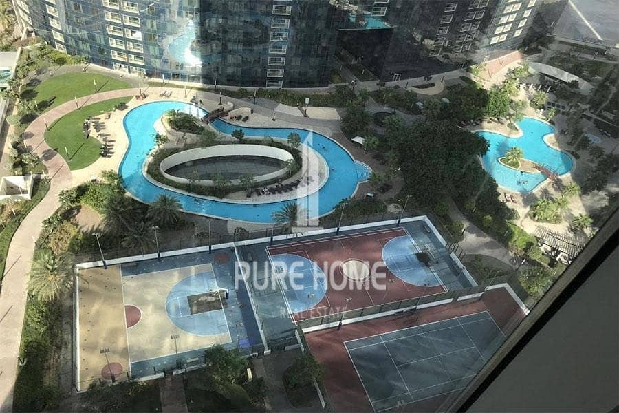 2 No Commission and 1 Month free For  2+1 BR Apartment With Amazing Facilities In Reem Island